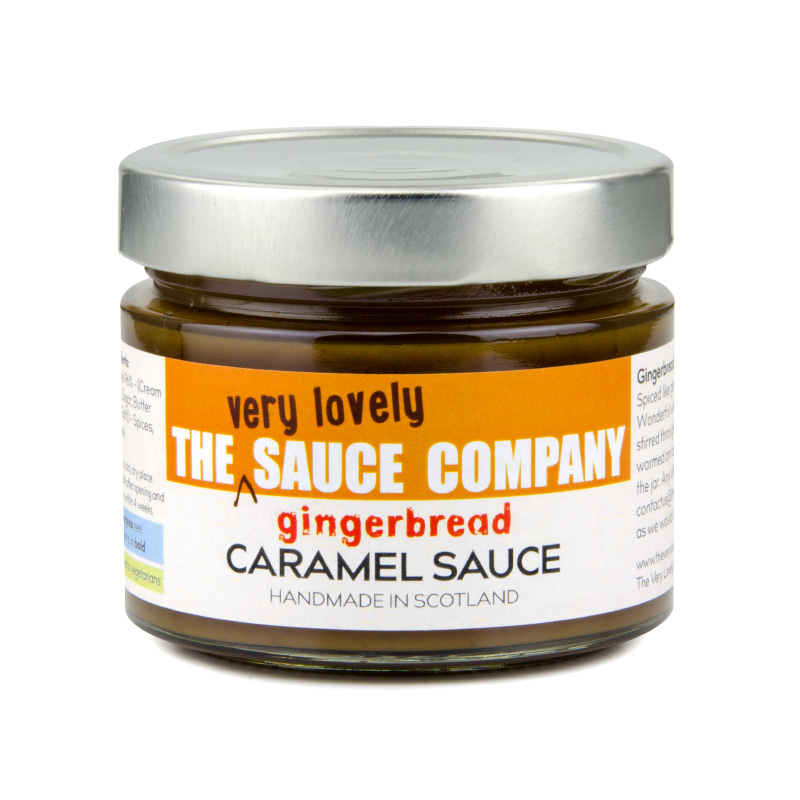 Gingerbread Caramel Sauce | The Very Lovely Sauce Company